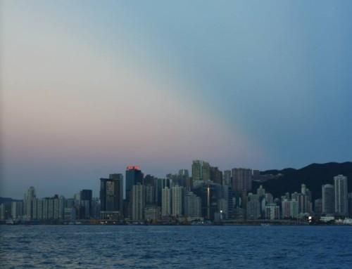 【香港あるある‼】~台風・大雨ばんざぁーい!?~