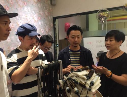 中国でセミナーと香港で美容師と。
