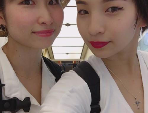 yuriとemmaの台湾の旅。