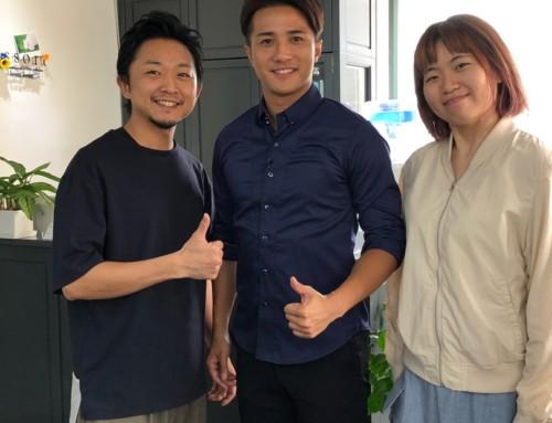香港のローカルテレビ『TVB』に出演させて頂きました☆