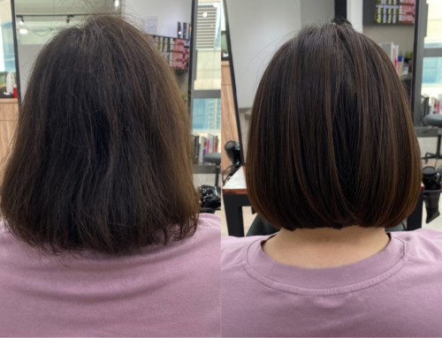 【広がる癖にまとまりを。】朝のスタイリング時間が10分短くなる!?#髪質改善縮毛矯正
