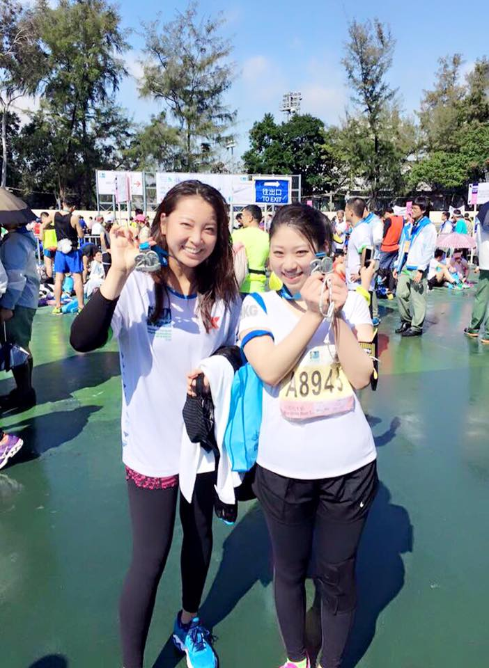 【2016年の挑戦!!kate,香港マラソン完走への道✨】