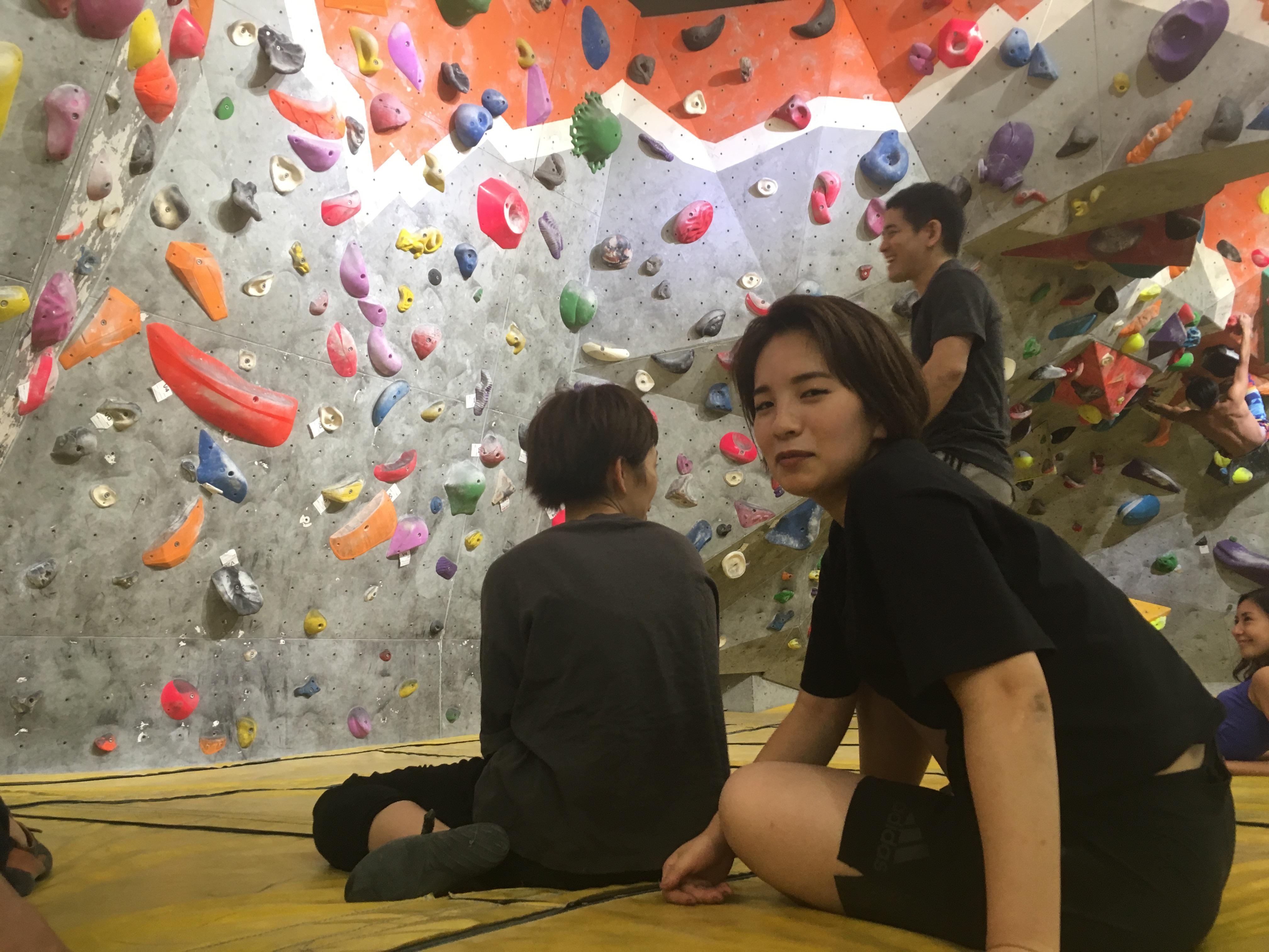 香港でボルダリングしよう!
