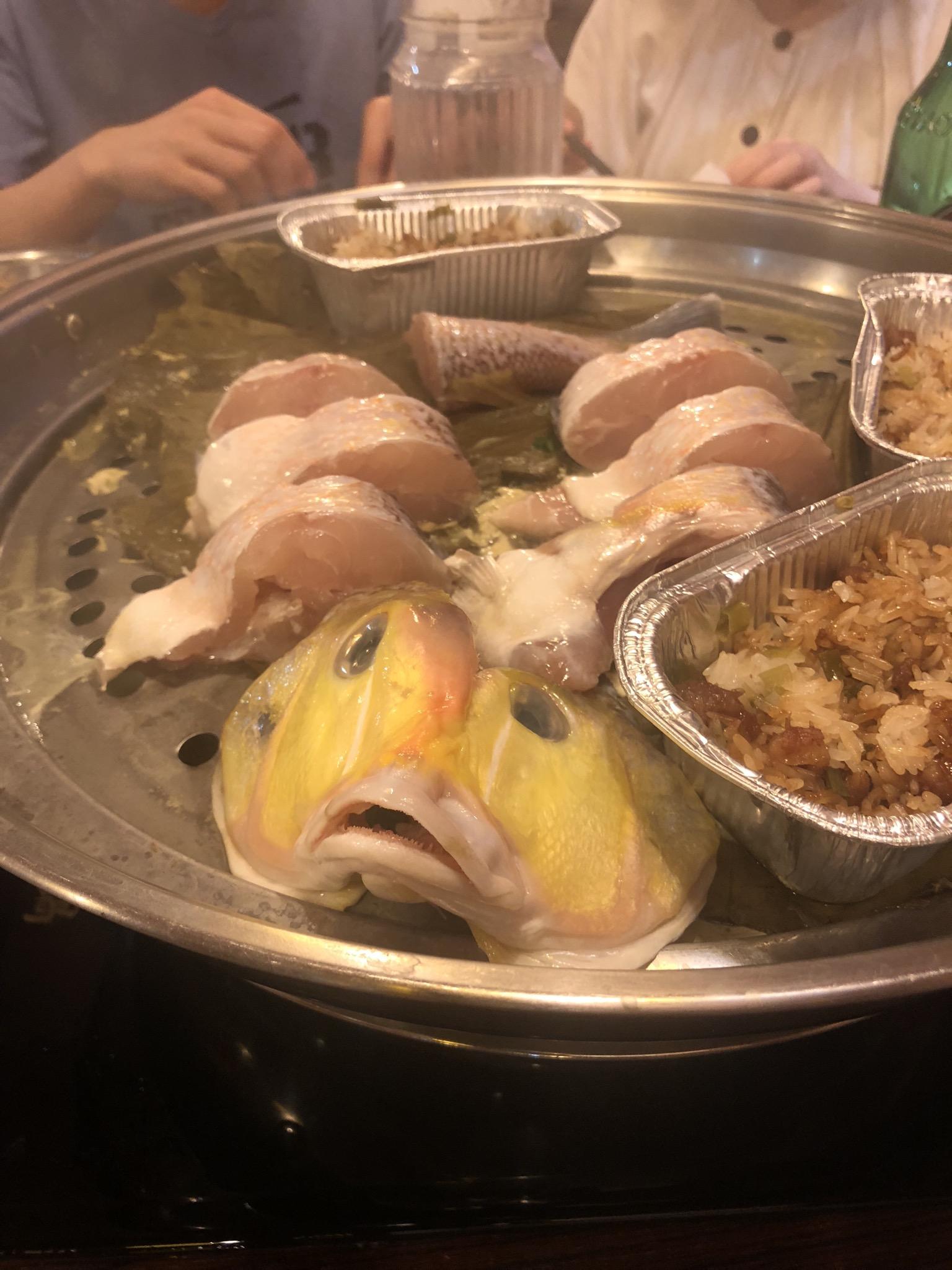 香港で激ウマの海鮮蒸し鍋料理店!!#皇朝 #kingsdynasty