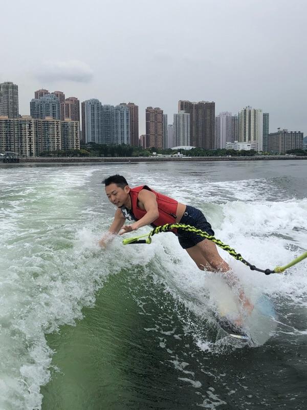 ウェイクサーフィンって知ってます?? in HK