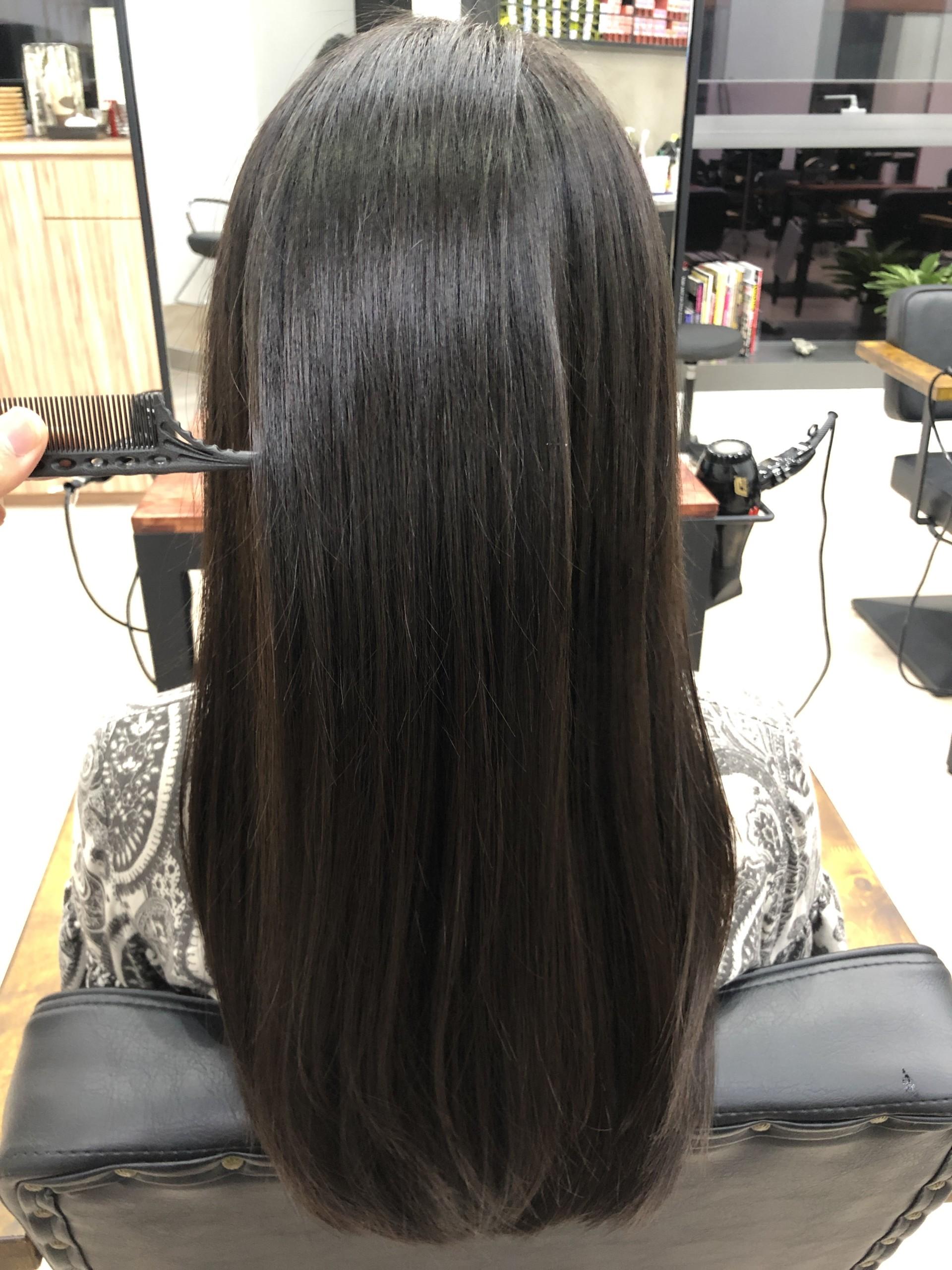 髪質改善縮毛矯正で髪に艶とまとまりを。 | Assort International Hair ...