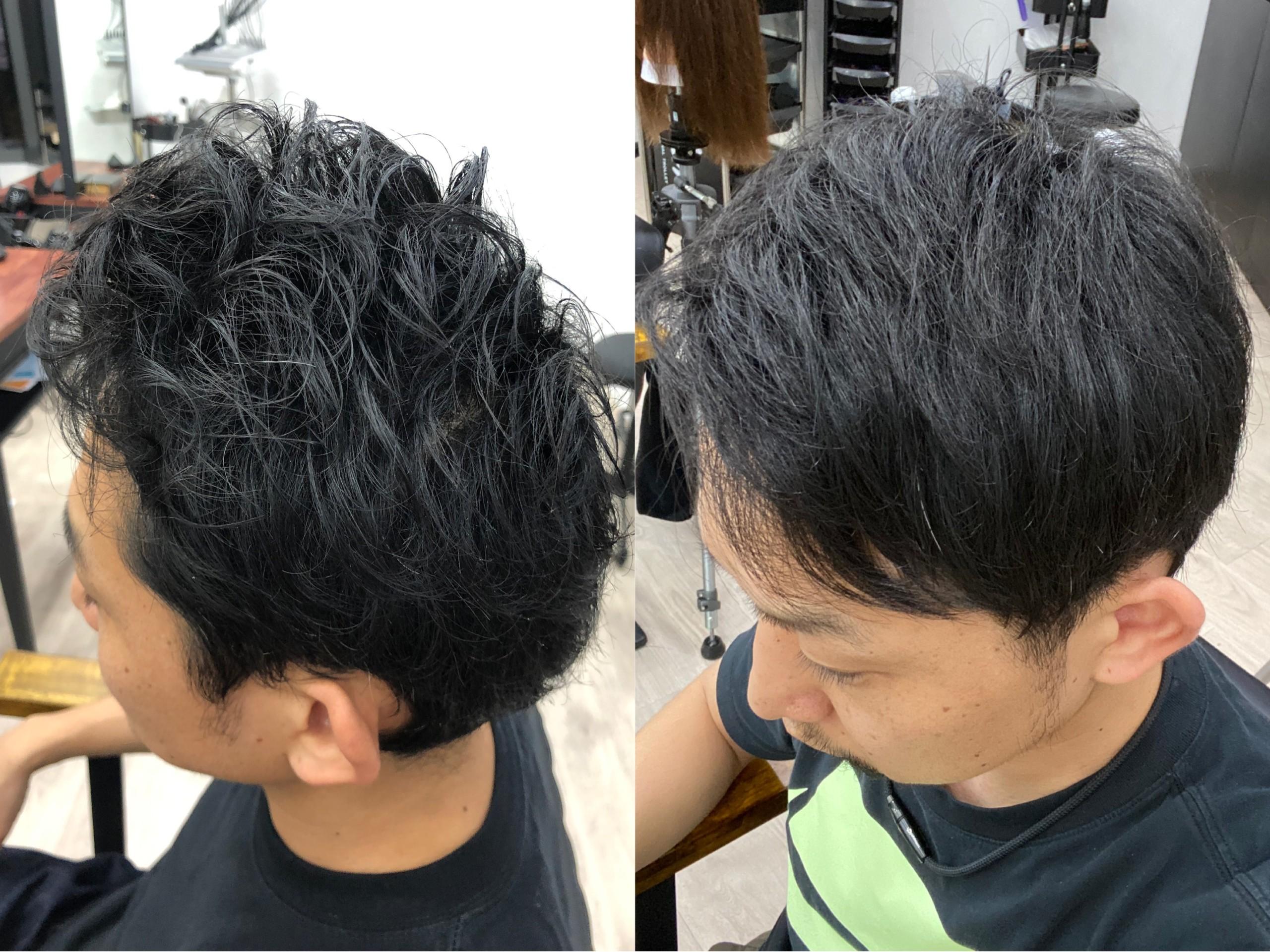 【検証】話題の髪質改善縮毛矯正を自分にやってみた! in HK