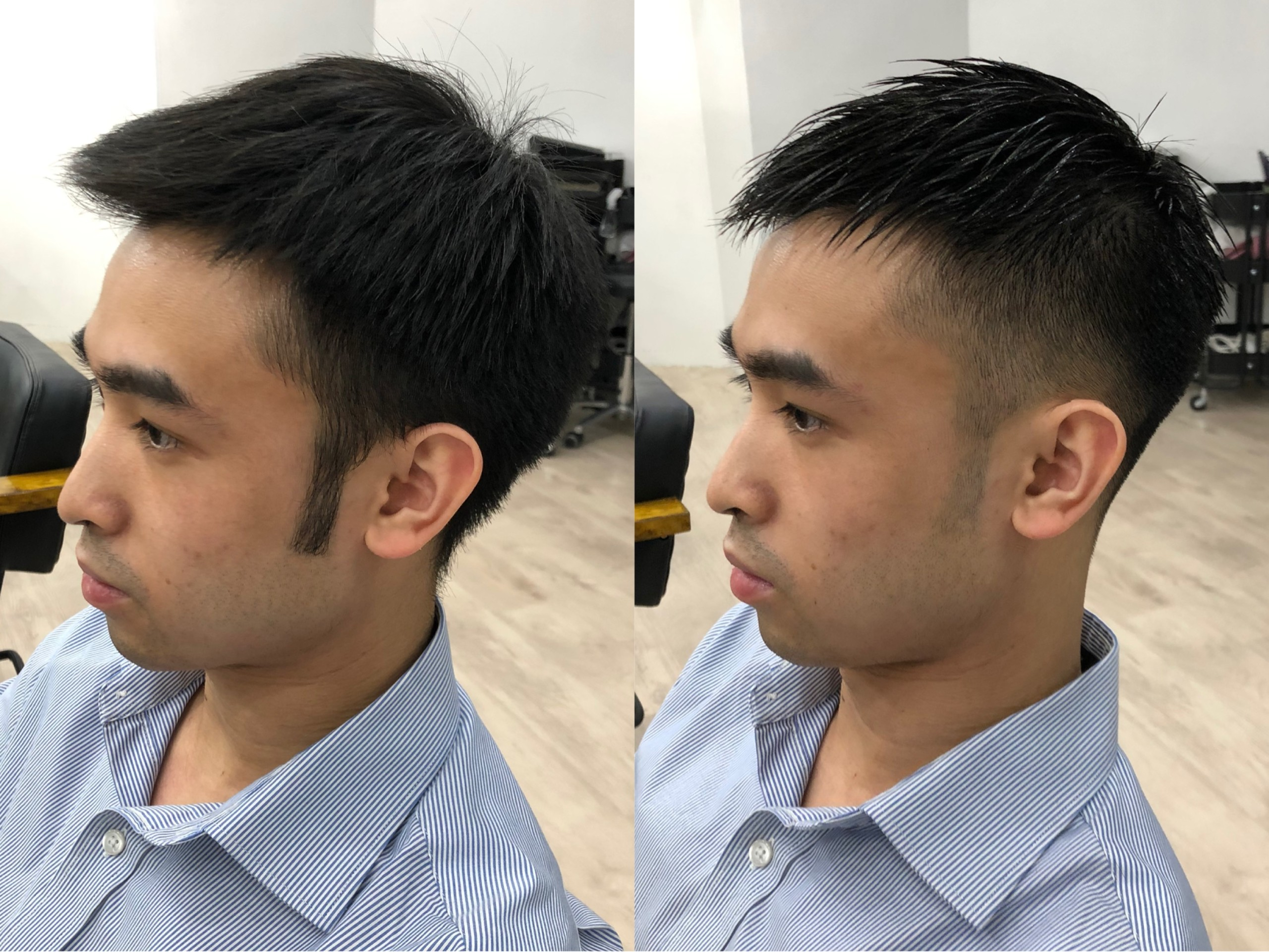 Men's Fade Haircut.